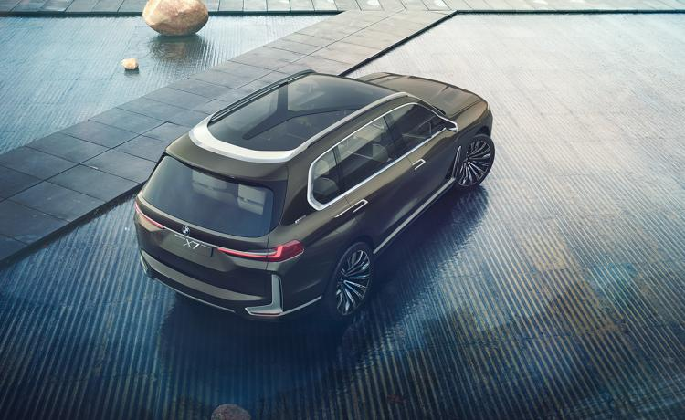 BMW gets creative with design of X7 concept for Frankfurt motor show