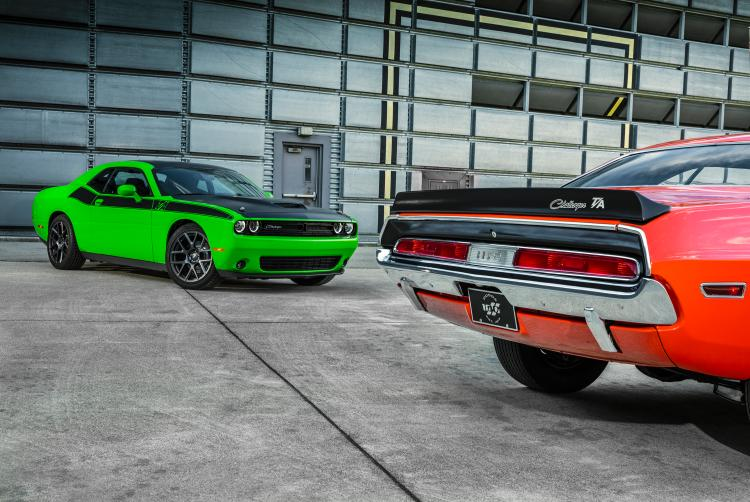 Short Report: Old-school style meets new-school smarts in the 2018 Dodge Challenger T/A