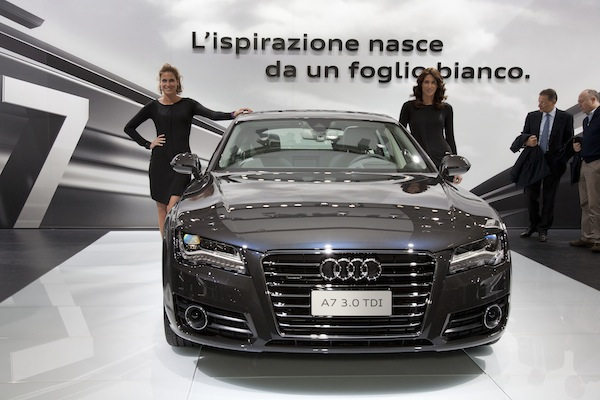 Ladies of the 2010 Bologna Motor Show