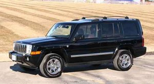 2006 Jeep Commander gets NHTSA 5 star frontal crash rating