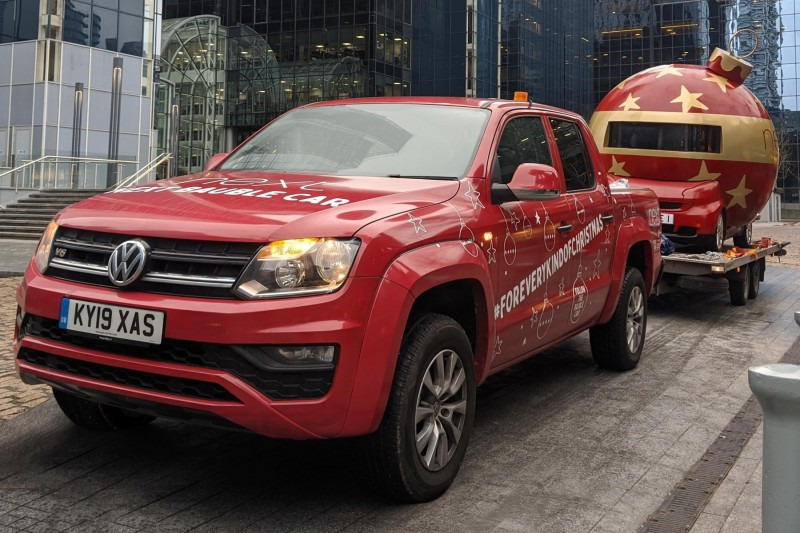 Volkswagen Amarok and Next bring Christmas cheer